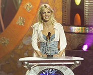 Britney gets an award for ....
