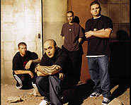 The guys of Staind.