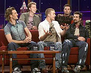 *NSYNC on The Tonight Show with Jay Leno, 2001.
