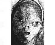Betty described an alien that looked like this.