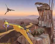 Naboo Starfighter on Planetary Patrol.