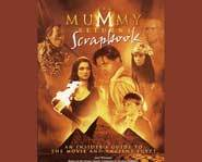 The Mummy Returns scrapbook.