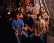 The cast of Roswell