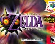 The Legend of Zelda: Majora's Mask for N64