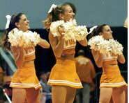 Cheerleading stunts like jumps, twirls and pyramids can cause serious injuries.