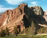 Smith Rock in Oregon.