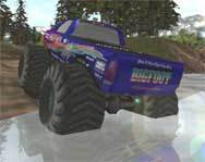 Water's no match for a Monster Truck!