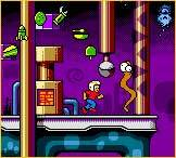 Commander Keen in space.