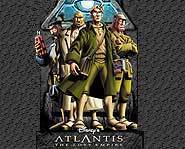 Milo Thatch and his crew search for Atlantis city.