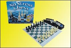 Learn how to play Chess with the board game, No Stress Chess.