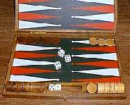 Backgammon Board.