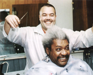 Fight promoter Don King has legendary bad hair.