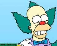 Krusty Klowns Around