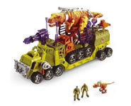 The Mega Rigs Dino Adventure building and model kit from Matchbox.
