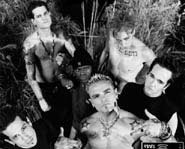 Rock/hip-hop band Crazy Town originally called themselves the Brimstone Sluggers.