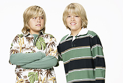 Twins Dylan and Cole Sprouse star in The Suite Life of Zack and Cody.