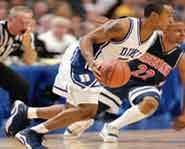 March Madness - College Basketball Duke University Blue Devils Jason Williams