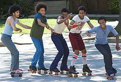 Bow Wow stars in this new FOX flick, Roll Bounce.