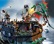 You can build your own Viking ships and fight dragons with the LEGO Vikings building kits and toys.
