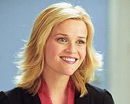Reese Witherspoon stars in the flick, Just Like Heaven.