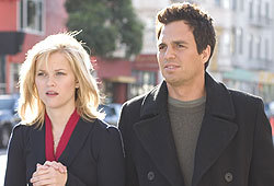 Reese Witherspoon and Mark Ruffalo star in the romantic comedy, Just Like Heaven.