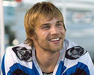 Mike Vogel stars in the motocross flick, Supercross.