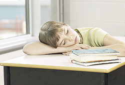 You need at least nine hours of sleep every night to concentrate in school the next day.
