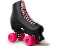A pair of Urban Roller roller skates by RollerGirl.