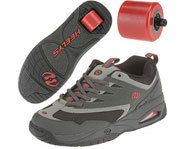 A pair of Heelys Flash Roller Shoes for kids.