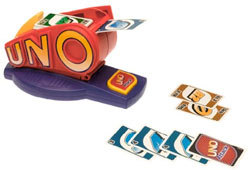 UNO Attack! adds a card launcher and new rules to this great family card game.