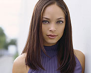 Actor Kristin Kreuk plays Lana Lang on WB's Smallville.