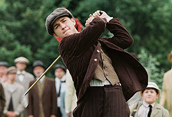 Shia LaBeouf plays young golf protege Francis Ouimet in The Greatest Game Ever Played.