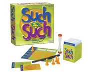 Such & Such is a fun family board game from Patch Products.