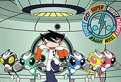 Super Robot Monkey Team Hyper Force Go! can be seen on ABC.