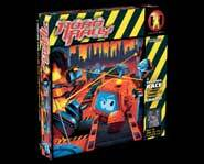 We review the Robo Rally board game of smash-em, bash-em robot racing!