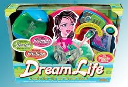 Dream Life is a plug and play TV video game exclusively for teen girls!