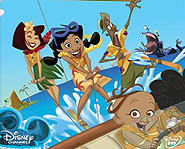 Penny and the rest of the Proud family are kidnapped in their Disney Channel original movie.