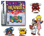 We review the new Dr. Mario & Puzzle League GBA video game!