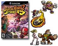 We review the Super Mario Strikers Gamecube video game, right here!