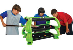 Picture of the Zocker Toys 3-D Pool Table.