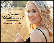 Carrie Underwood's debut album features the track Inside Your Heaven.