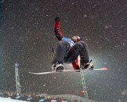 Pic of pro snowboarder, Lindsey Jacobellis.