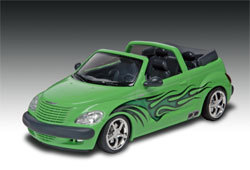 Picture of a Revell-Monogram model car kit for kids.