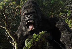 Peter Jackson directs the 2005 version of King Kong.