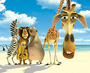 Madagascar is a hilarious animated flick about African animals who escape from the zoo.