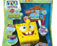 Picture of the SpongeBob SquarePants Plug 'N Play video game.