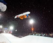 Photo of pro snowboarder, Elena Hight.