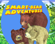 The Smart-Bear Adventures is a series of interactive CD-ROMs, which teach kids about bears.