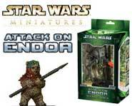 We review the Star Wars Miniatures: Attack on Endor strategy game set right here!