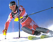 Photo of American downhill skier, Bode Miller.